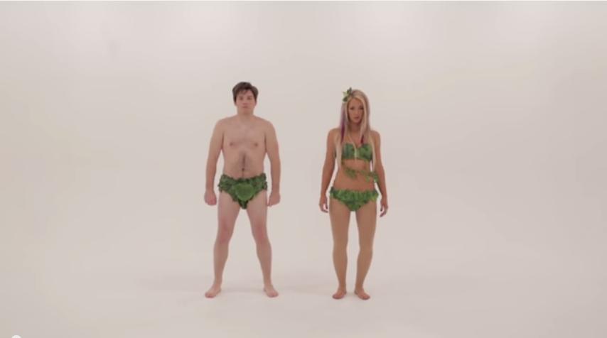 Adam vs Eve. Epic Dance Battles of History   YouTube2
