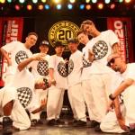 8人のミドルスクールマスターによる【THE BROTHERS】のダンスが殿堂入り級