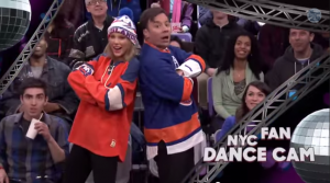 Jimmy Fallon and Taylor Swift Jumbotron Dancing   YouTube