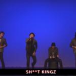 日本が世界に誇る芸術!S**tKingzがバンドを模した新しいHIPHOPダンスを披露