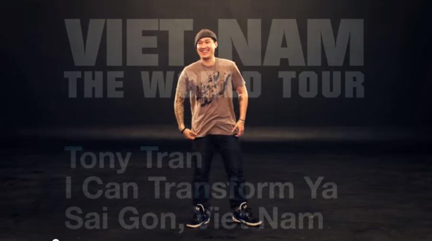 Tony Tran  I Can Transform Ya   YouTube2