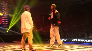 YASS B.B.B.  vs oSaam sucreamgoodman  DANCE LIVE JAPAN FINAL 2014 HIPHOP【SEMIFINAL】   YouTube2