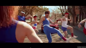 80 s Aerobic Dance Battle   Ford 2015 Mustang   4K   YouTube3