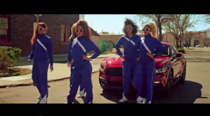 80 s Aerobic Dance Battle   Ford 2015 Mustang   4K   YouTube5