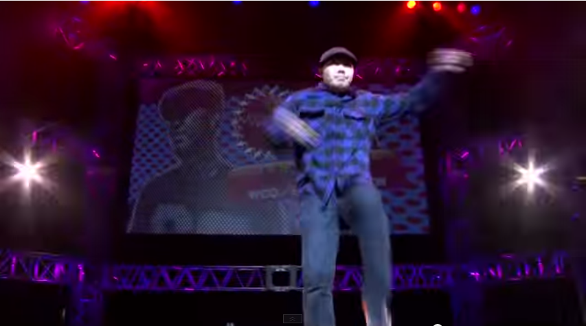 HANAI(WCO/BE BOP CREW)JUDGE MOVE   YouTube