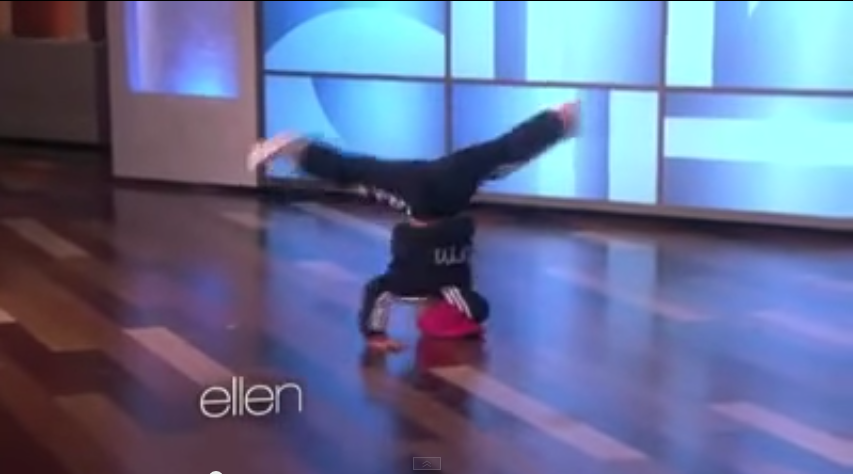 B Girl Terra   Eddie at Ellen show   YouTube