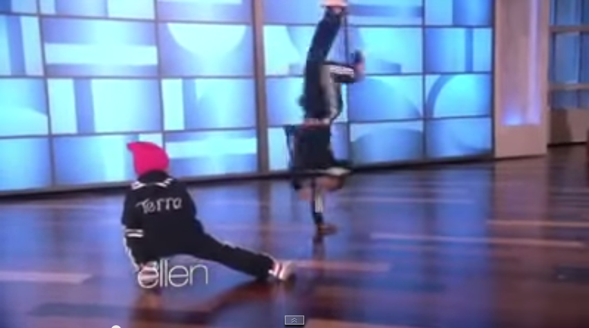 B Girl Terra   Eddie at Ellen show   YouTube2