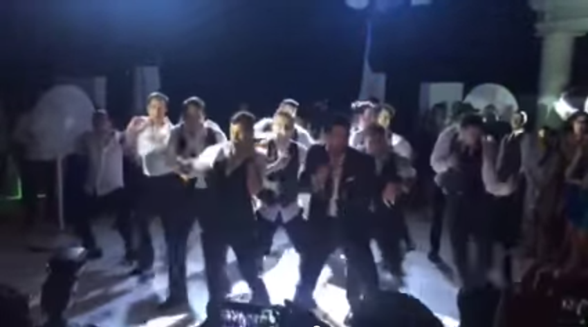 BEST GROOMSMEN DANCE EVER    YouTube
