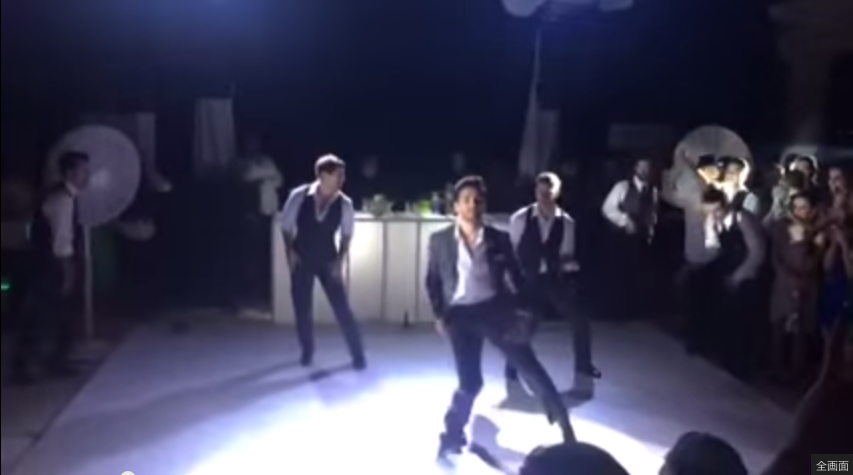 BEST GROOMSMEN DANCE EVER    YouTube2