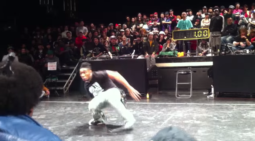 Juste Debout Japon Judge Meech Solo 2011. 1.11   YouTube