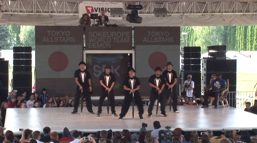 SDK EUROPE 2013 WORLD TEAM BATTLE TOKYO ALLSTARS  JAPAN    YouTube2