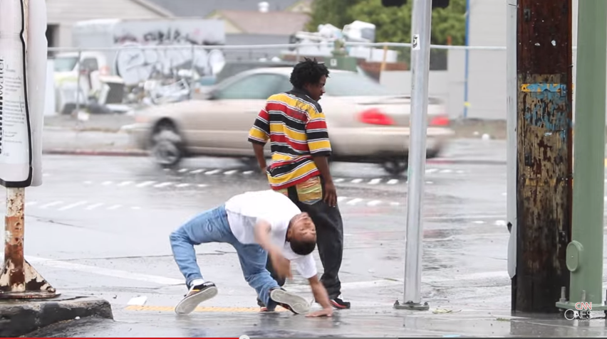 TURF FEINZ RIP RichD Dancing in the Rain Oakland Street   YAK FILMS   YouTube