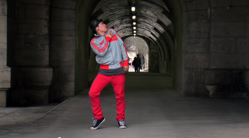 Tony Tran a.k.a. Tony Transformer Freestyles in Paris   YouTube