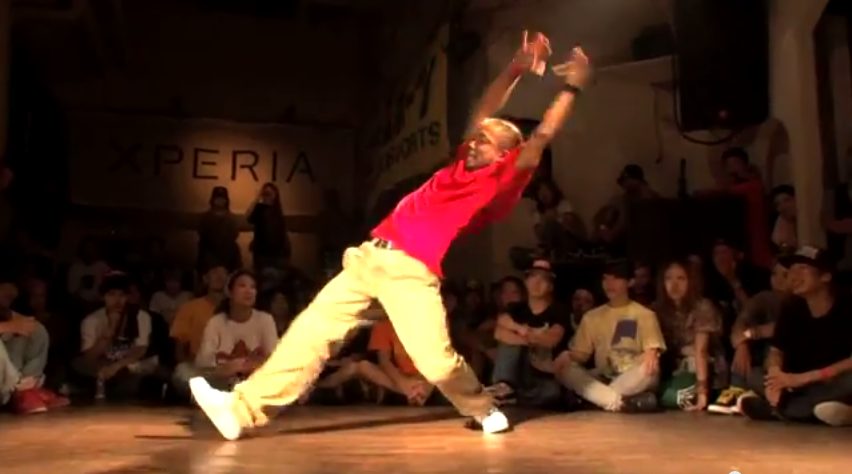 DANCE LIVE 2013 HIPHOP Kanto vol 02【SEMIFINAL】TOMOKO vs U SUKE KYOTO JAPAN   YouTube