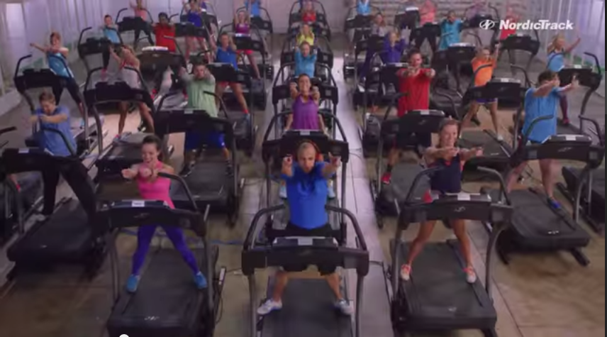 World's Largest Treadmill Dance With Over 40 Treadmills    YouTube2