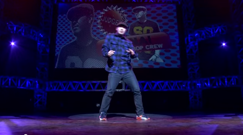 HANAI(WCO/BE BOP CREW)JUDGE MOVE   YouTube2