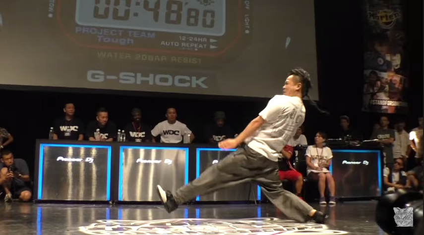 West Gang NESS CREESTO  vs QUIGHT TAC ZOOM  BEST4 POP 【WDC 2014】   YouTube