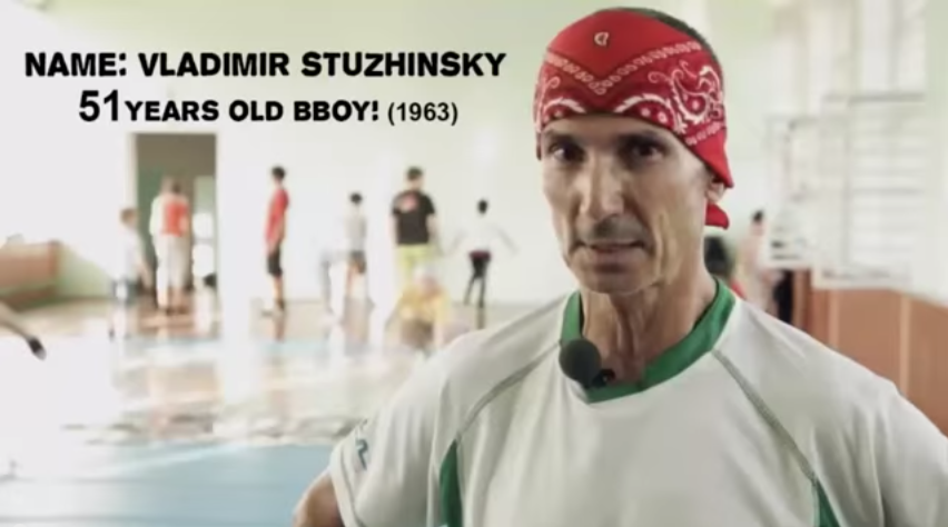51 Years Old Bboy Dancer from Russia  Born on 1963  Russia  Motivation for dancing      YouTube2