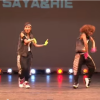 強い女性の第一人者!色あせることのないSAYA&RIEのHOTなダンス