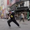 韓国のロックダンス宣教師!LockingKhanが祖国の街中でダンス
